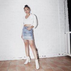 Nadine Lustre Ootd, Nadine Lustre Fashion, Nadine Lustre Outfits, Summer Outfits, Casual Outfits, Nadz Lustre, Flattering Outfits, Filipina Actress, Sevilla