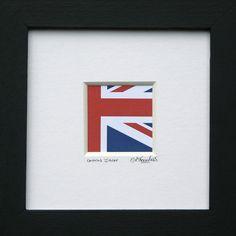 Union Jack - framed British Flag print