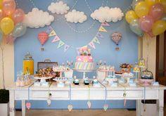 Chuva de amor: Nuvens podem servir como tema para festas criativas