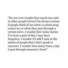 Do you ever wonder...