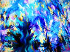 Sleepy Daydream Forest by Abstract Angel Artist Stephen K Alien Artist, Real Genius, Daydream, Digital Art, Angel, Wall Art, Abstract, Artwork, Painting