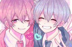 Cute Anime Boy, Cute Anime Couples, Anime Love, Anime Guys, Chibi Boy, Anime Chibi, Sword Art Online Manga, K Project Anime, Anime Friendship