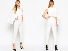 Say No to the Dress 16 Stylish Modern Bridal Jumpsuits!