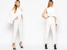 Say No to the Dress 16 Stylish Modern Bridal Jumpsuits!