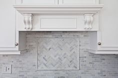 Cabinets Plus Design:  Giles Kitchen Remodel; Tile Backsplash & Hood