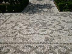 pebble mosaics    Alhambra, Granada, Spain 2010