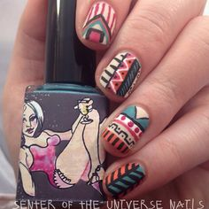 Instagram photo by @senteroftheuniverse_nails via ink361.com