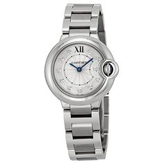 Cartier Ballon Bleu Silver Diamond Dial Stainless Steel Ladies Watch We902073. => http://www.amazon.com/Cartier-Ballon-Diamond-Stainless-WE902073/dp/B00H6X5OFA/watches0906-20/ => Brand, Seller, or Collection Name:Cartier,Part Number:WE902073,Case material:Stainless Steel,Dial color:Silver,Bezel material:Fixed Stainless Steel,Warranty type:Contact seller of record