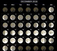 Moon Phases Calendar Desktop Background December 2019 64 Best Moon Phases Calendar images in 2019 | Full moon phases