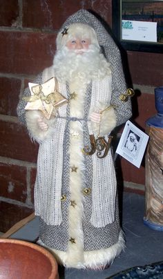Diane Dykema started her business, Whimsey, over 20 years ago, making handcrafted Santa dolls.