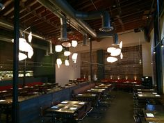 Akasha, Culver City. Recommended on top five best Thanksgiving episode the pie buffet