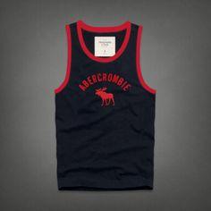 Cheap Abercrombie & Fitch Cotton Vest Mens AFC1073  http://abercrombie-sale.net/