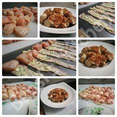HÄHNCHEN IM PARMESAN - BACONMANTEL Rezept: http://babsiskitchen-foodblog.blogspot.de/2016/06/hahnchen-im-parmesan-baconmantel.html