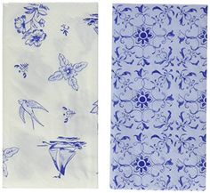 Talking Tables Party Porcelain Picnic Napkins 20 Pack Blue  White * For more information, visit image link.  This link participates in Amazon Service LLC Associates Program, a program designed to let participant earn advertising fees by advertising and linking to Amazon.com.