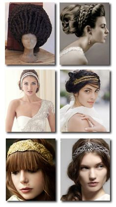 http://theweddingtiara.com/archives/etruscan-grecian-and-roman-wedding-ideas-2 greek hair representations