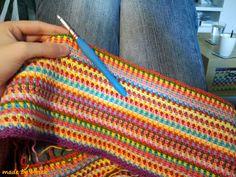 Ik noemde de cowl al in mn laatste blog over mn granny deken , maar hier is hij dan echt; het blogje over de moss stitch cowl!  Hij is warm,...