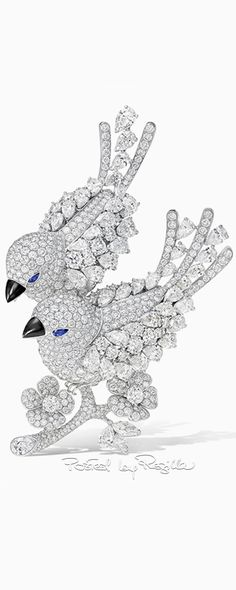 Graff Diamond bird brooch