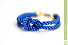Hey, I found this really awesome Etsy listing at https://www.etsy.com/listing/94060164/square-knot-silk-rope-bracelet-royal