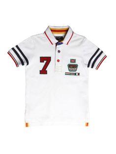 Buy XnY Boys White Polo T Shirt - Tshirts for Boys 1157548 | Myntra