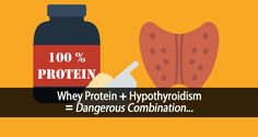 Did you know that hypothyroidism and whey protein is a dangerous combination? Learn how whey protein can raise this thyroid-suppressive amino acid by Thyroid Test, Thyroid Gland, Thyroid Health, What Is Whey Protein, Whey Protein Benefits, Collagen Protein, Health Benefits, Hormone Supplements, Amino Acid Supplements