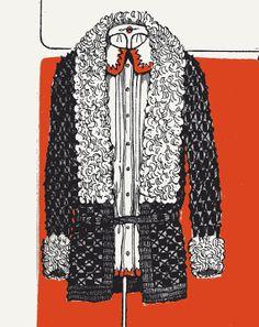 1920s flapper sweater crochet pattern PDF - Sweater With Krimmer Collar