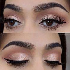 Latest Makeup for Natural Eyes - Organization bedroom - Eye Makeup Dark Eye Makeup, Eye Makeup Steps, Hooded Eye Makeup, Makeup For Green Eyes, Natural Eye Makeup, Smokey Eye Makeup, Dramatic Wedding Makeup, Wedding Eye Makeup, Dramatic Eye Makeup