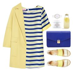 Summer Coat by sweetpastelady on Polyvore featuring мода, STELLA McCARTNEY, Florian London, Kate Spade, Fresh and Bormioli Rocco