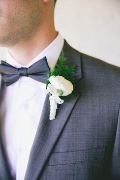 Classic satin black bow tie   Photography: One Love Photo - onelovephoto.com  Read More: http://www.stylemepretty.com/california-weddings/2014/04/28/romantic-al-fresco-temecula-wedding/