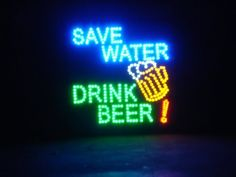 19x19 Large Save Water, Drink Beer Motion LED Sign by ANI, http://www.amazon.com/dp/B006ZRB65A/ref=cm_sw_r_pi_dp_mO6zrb1BAXMV7