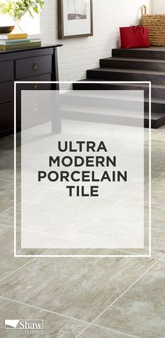 This glazed porcelain tile, known as Retreat, has an ultra modern concrete visual with beautiful colors and a smooth, stone feel and look. Retreat provides the cool look of cement and is perfect for any interior or exterior space in your home. Cement, Concrete, Bath Tiles, Outdoor Flooring, Color Tile, Terra Cotta, Porcelain Tile, Ceilings, Floors