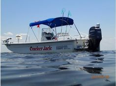 """Great Skiff with a great name. Gotta see 2008 Carolina Skiff DLV """"Cracker Jack"""" Cracker Jacks, Great Names, Used Boats, Boats For Sale"""