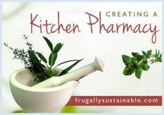 Kitchen pharmacy