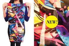 Nueva linea de accesorios by Fly . Pañuelos super coloridos. Modelo GEOMETRIC . Pronto mas diseños!