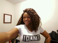 Beautiful African American Queen going the the I CLAIM IT movement #iclaimitqueens #iclaimit #claimsetter #iclaimitqueen