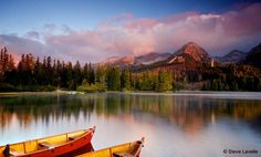 Strbske Pleso, Slovakia by Steve Lavelle on Places Around The World, Around The Worlds, High Tatras, Visit Prague, Visit Germany, Big Country, Central Europe, That Way, Budapest