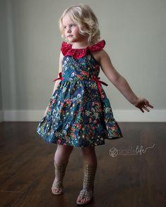 12M to 16 years Organic cotton Scandi and retro style kids skirt knee length