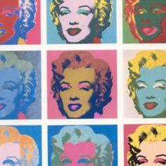 Andy Warhol, Art, Marilyn Monroe