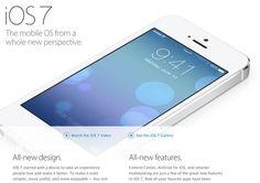 News abt iOS 7.