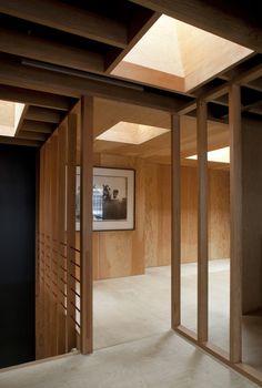 Jonathan Tuckey Holland Park mews house reconstruction | Remodelista