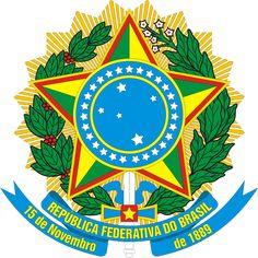 Simbolo das Armas Nacionais ou o Brasão de Armas do Brasil é um dos quatro símbolos oficias, foi idealizado pelo engenheiro Artur Zauer e desenhada por Luís Gruder sob encomenda de Deodoro da Fonseca, Primeiro Presidente Brasileiro após a Proclamação da República. Representam a glória, a honra e a nobreza brasileira.