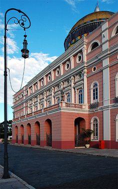 Teatro Amazonas em Manaus, Brasil