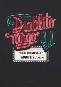 Diablito Tango Poster byXavier Lacruz #typography