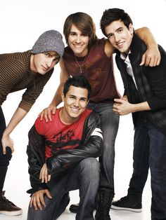Big Time Rush love there music. I also think there faces are pretty awesome to