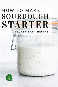 While it takes a little bit of patience and about a week of your time, making a sourdough starter from scratch is one of the easiest (and most fulfilling) kitchen projects you can tackle. With about a week of diligent feedings, you'll be able to transform plain water and flour into a bubbly leavening that you can use to make bread, pancakes and other recipes. | #sourdough #nourishedkitchen
