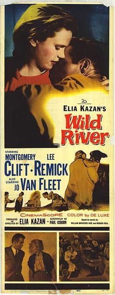 """Another Kazan masterpiece; this was Monty Cliff's last great performance. It's brilliant display of method acting in an """"issue picture"""", Lee Remick soars in this too (although, she's perhaps best in A FACE IN THE CROWD, which was Kazan yet again! Old Movie Posters, Cinema Posters, Original Movie Posters, Movie Poster Art, Old Movies, Vintage Movies, Great Movies, Stephane Audran, Elia Kazan"""