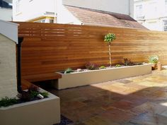 rendered raised beds