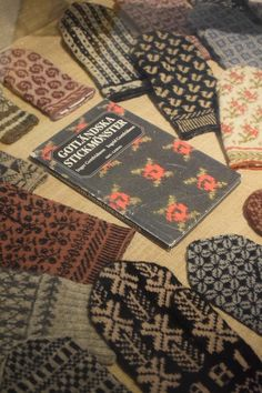 The Mitten Book by Gottfridsson at Gotlands Museum in Visby || my life in knitwear