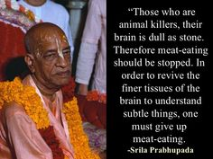 The Hare Krishna Revolution Krishna Leela, Hare Krishna, Srila Prabhupada, Meat, Words, Revolution, Quotes, Spiritual, Cooking