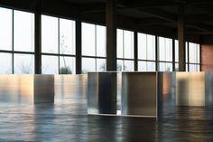 Donald Judd | aluminum boxes, Alex Marks photo