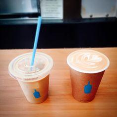궁금했던 #블루보틀  추천 받았던 따뜻한 #라떼 와 #뉴올리언즈 를 마셨어요. 결론은... 요즘 한국도 커피 맛있는 집이 많아서 크게 감흥은 없다는거  #샌프란시스코#커피#여행#미국여행#커피스타그램#여행스타그램 #bluebottle#latte#neworleans#coffee#sanfrancisco#usa#trip#travel by schipolalice